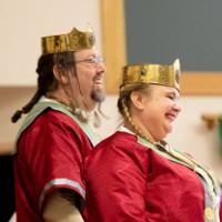 Their Royal Majesties